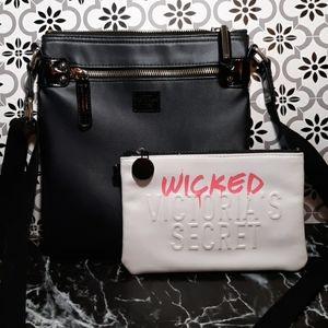 Victoria's Secret crossbody makeup bag